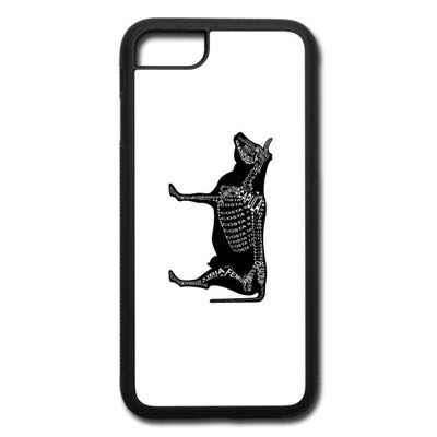Word Anatomy Cow Skeleton Smartphone Case - Present for Vets